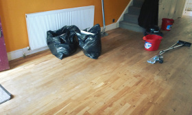 After builders cleaning Preston HA9