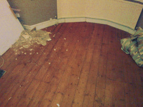 After builders cleaning Markhouse E17