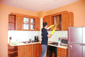 End of tenancy cleaning Alexandra N22