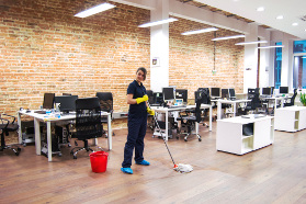 Office cleaning West India Quay E14