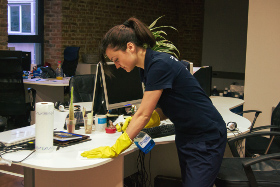 Office cleaning Fitzrovia WC1
