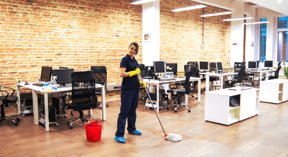 Office & commercial cleaning in London