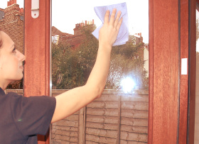 Window cleaning Bow E3